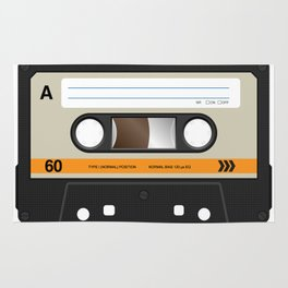 K7 cassette 8 90 Rug