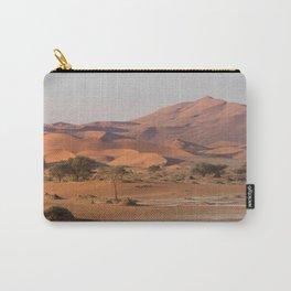 Desert textures - Sossusvlei desert, Namibia Carry-All Pouch