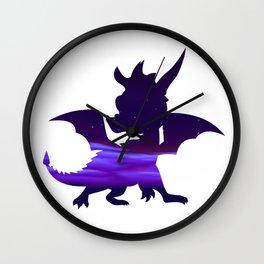 Spyro Crystal Islands Skybox Wall Clock