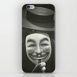 Anonymous II iPhone Skin