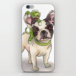 Bubba & Monkey iPhone Skin