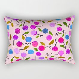 cherry-berrie jumble ... Rectangular Pillow