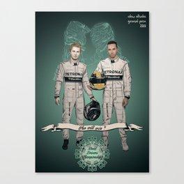 Formula 1 World Driver's Championship 2014 Canvas Print