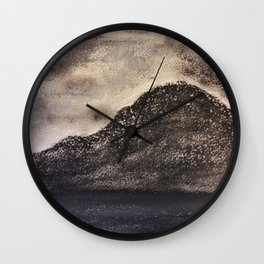 Norwegian Mountain by Gerlinde Wall Clock