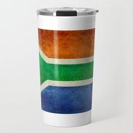 Flag of the Republic of South Africa Travel Mug