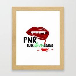 PNR Book Lover Reviews Framed Art Print