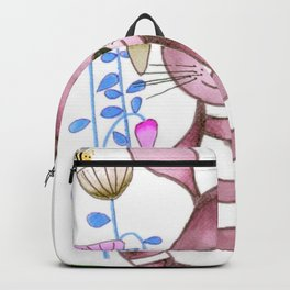 Nursery Wabbit Pink Backpack