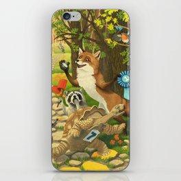The Tortoise And The Hare iPhone Skin