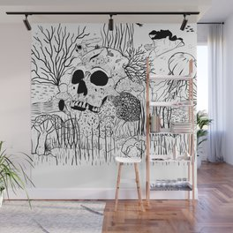 Down where it's wetter Wall Mural