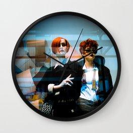 Mannequin Noir Wall Clock