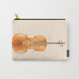 Cello - Watercolors Carry-All Pouch
