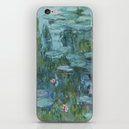Claude Monet - Water Lilies iPhone Skin