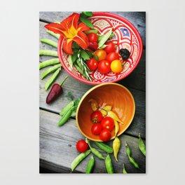 Freshly picked II Canvas Print