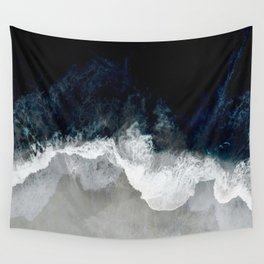 Blue Sea Wall Tapestry
