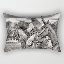 Outlaws Ride Again Rectangular Pillow