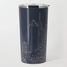 Philly Blueprint Travel Mug