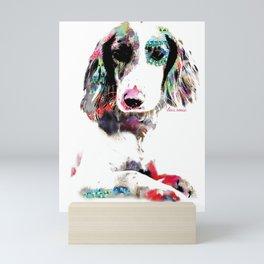 bri the brit Mini Art Print