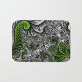 Fantasy World, abstract Fractal Art Bath Mat