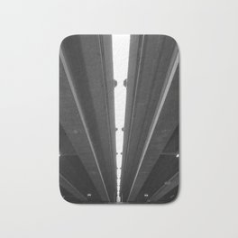 'Under the Freeway' Abstract Urban Photographic Print Bath Mat