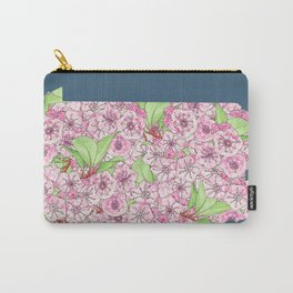 Pennsylvania in Flowers Carry-All Pouch