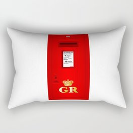 Traditional British  Georges Reign Postbox Rectangular Pillow