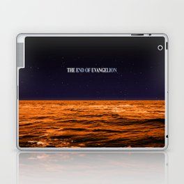 Movie Poster: The End of Evangelion Laptop & iPad Skin