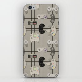Paper Cut-Out Video Game Controllers iPhone Skin