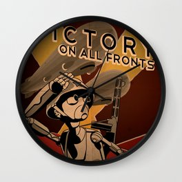 Propaganda Series 4 Wall Clock