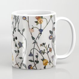 Flowers - Stems - Bossoms - Branches - Pattern Coffee Mug