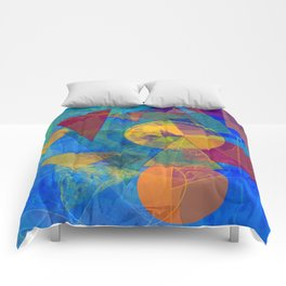 Modern Abstract Comforters