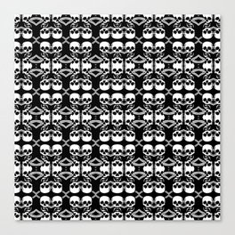 Saber Skulls (Smaller) Canvas Print