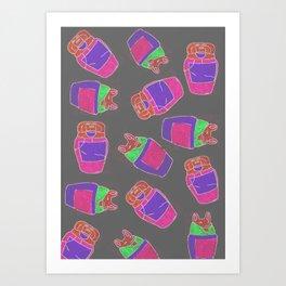 homage5 Art Print