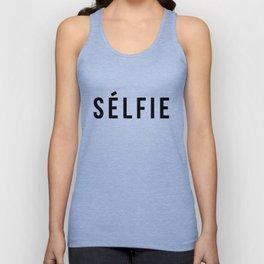 Selfie - version 1 - black Unisex Tank Top