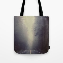 Long Road, Redwoods National Park. Instant Film Tote Bag