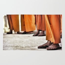 Thai Monks (1998) Rug