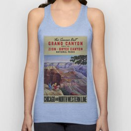 Vintage poster - Grand Canyon Unisex Tank Top