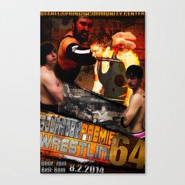 Southern Premier Wrestling 64 Canvas Print