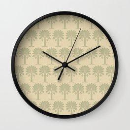 Coriander Spice Moods Palm Wall Clock