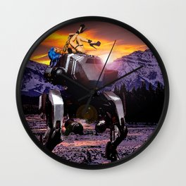 Spring Break on the Ice Planet Hoth Wall Clock
