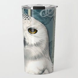 The Snowy Owl Journal Travel Mug