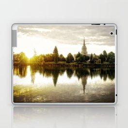 Idaho Falls Temple - Sunrise Laptop & iPad Skin