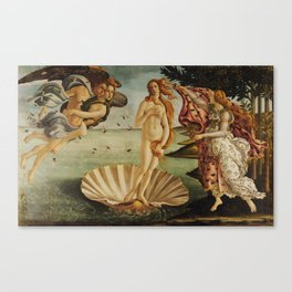 The Birth of Venus by Sandro Botticelli Canvas Print