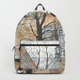 The Warsaw Barbican Poland Backpack