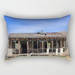 Busted Bunkhouse Rectangular Pillow