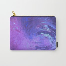 Abstract Blue Storm  by Robert S. Lee Carry-All Pouch
