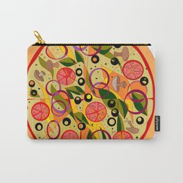A Veggie Pizza, my Favorite Carry-All Pouch