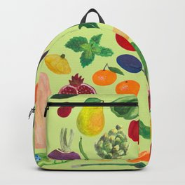 Fruits and Veggies Backpack