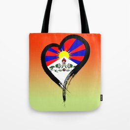 Heart Nation 07 Tote Bag