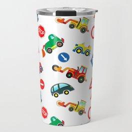 Kid cars, car and machine, tractor Travel Mug