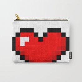 8-Bit Heart Carry-All Pouch